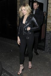 Chloe Moretz Night Out Style - Leaving the Chiltern Firehouse in London, January 2016