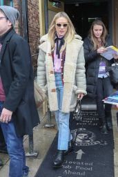 Chloe Sevigny Casual Style - Out in Park City, January 2016