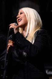 Christina Aguilera - Attends the Linda Perry Celebration For The Song