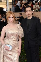 Christina Hendricks – SAG Awards 2016 at Shrine Auditorium in Los Angeles