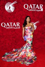 Christina Milian - Qatar Airways Los Angeles Gala in Hollywood 1/12/2016