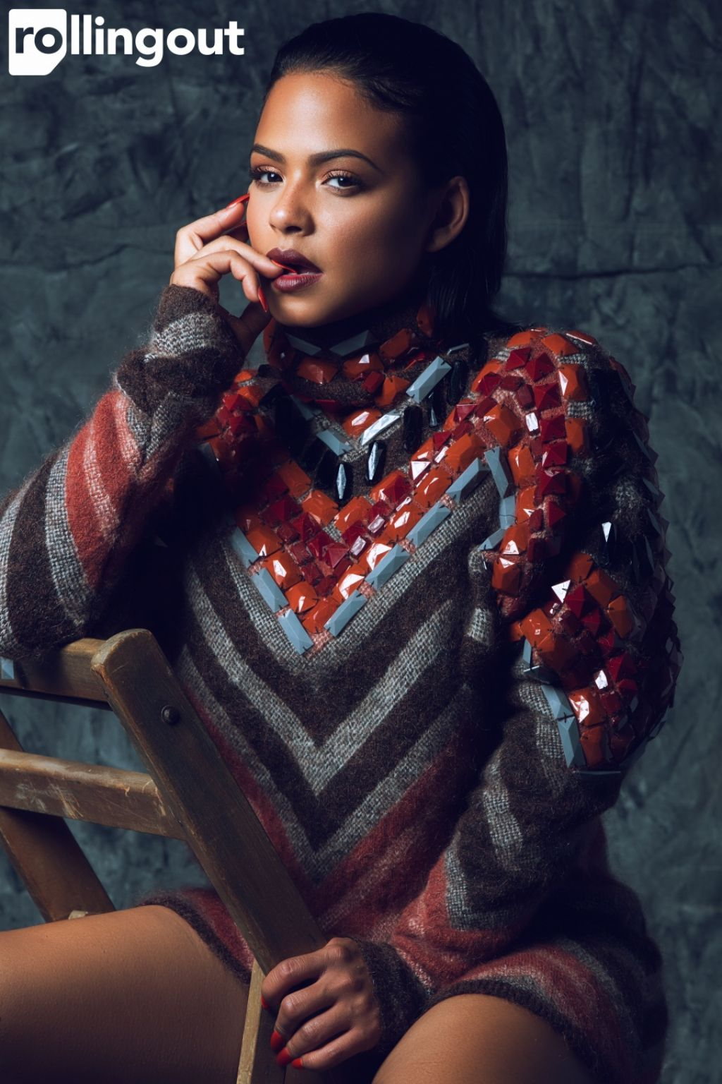 Christina Milian - Rolling Out Magazine January 2016 Issue