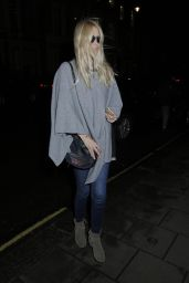 Claudia Schiffer - Went to Nobu Restaurant in London, January 2016