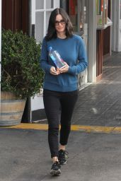 Courteney Cox - Out in Brentwood 1/14/2016