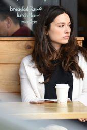 Crystal Reed - Having Coffee in Los Angeles, January 2016