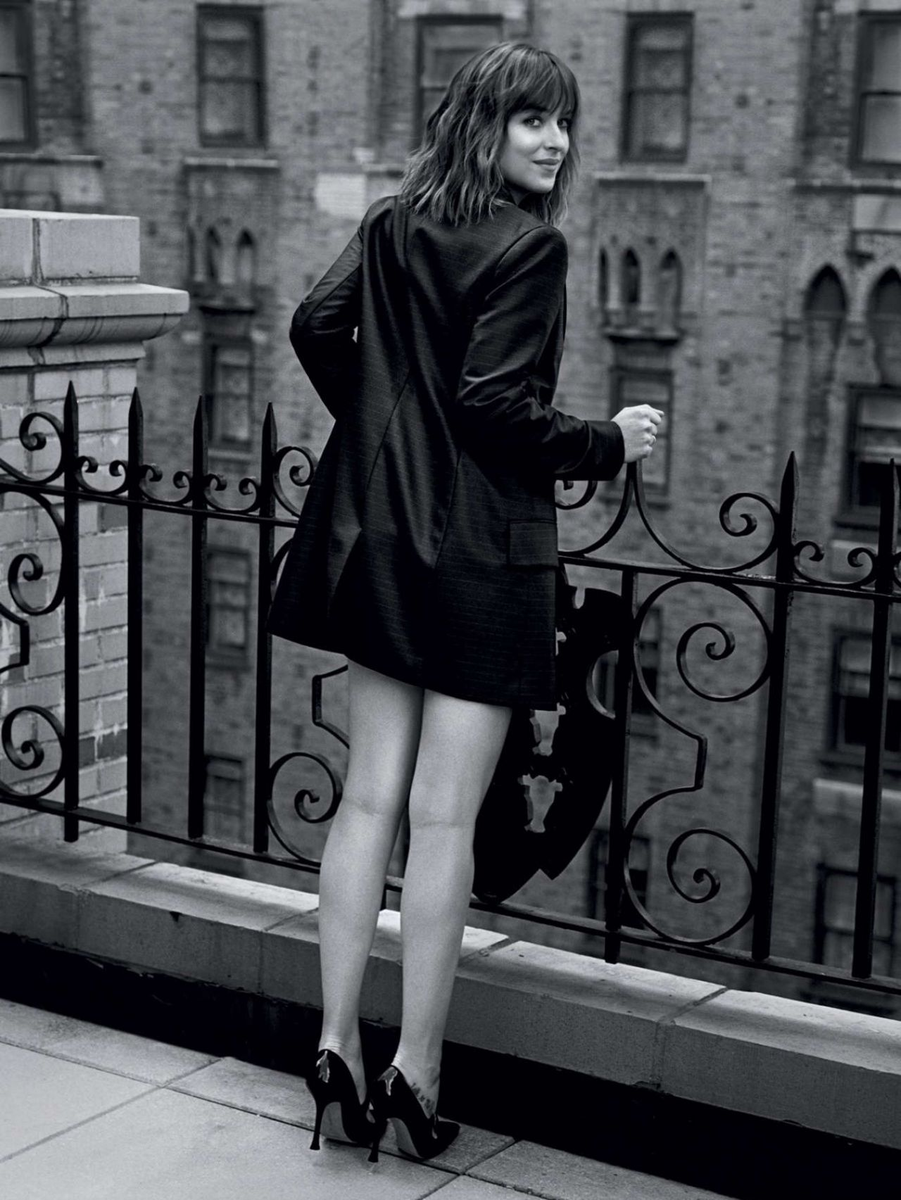 Dakota Johnson – Vogue Magazine UK February 2016 Photo