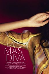 Dalianah Arekion - Glamour Magazine Spain February 2016 Issue
