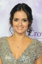 Danica McKellar - 2016 Winter TCA Tour - Hallmark Channel Party in Los Angeles