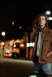 Daria Werbowy - Photoshoot for AG Jeans Spring/Summer 2016