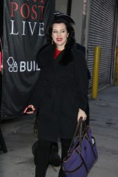 Debi Mazar at AOL Build Promoting the 2nd Season of the Younger in New York City