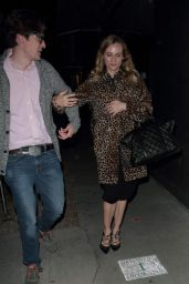 Diane Kruger Night Out - Leaves Madeo Restaurant in Hollywood, January 2016