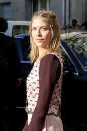 Elena Perminova – Arrivals at Haute Couture Fashion Show Christian Dior Spring-Summer 2016 in Paris
