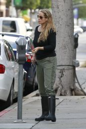 Elizabeth Berkley - Out in Beverly Hills in LA, January 2016