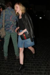 Elle Fanning Night Out Style - Leaving the Chateau Marmont in West Hollywood, January 2016