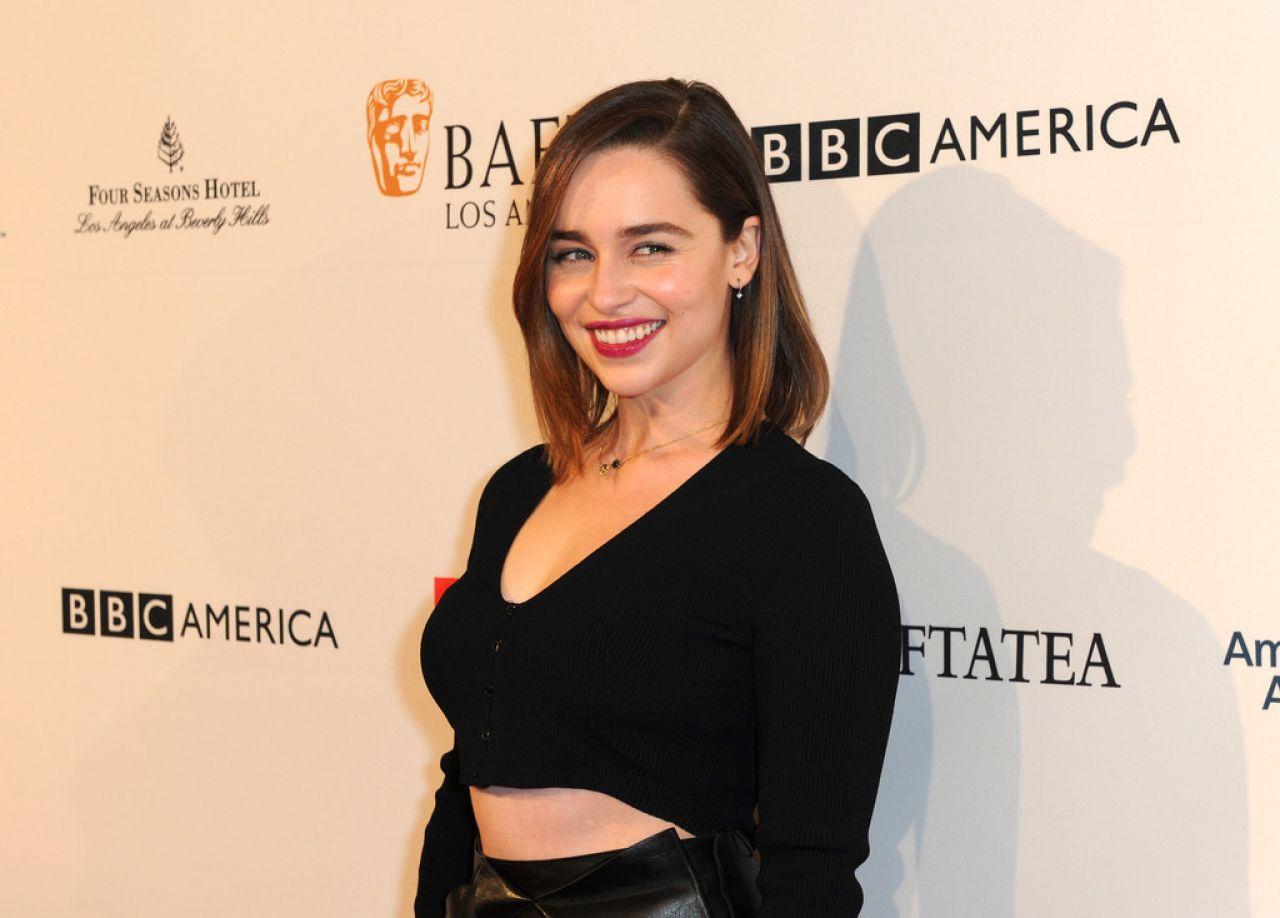 Emilia Clarke - 2016 BAFTA Los Angeles Awards Season Tea