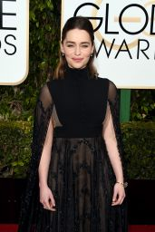 Emilia Clarke – 2016 Golden Globe Awards in Beverly Hills