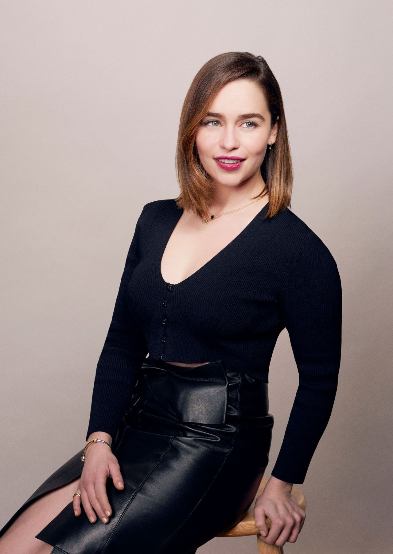 Emilia Clarke Bafta Awards Season Tea Party Portraits