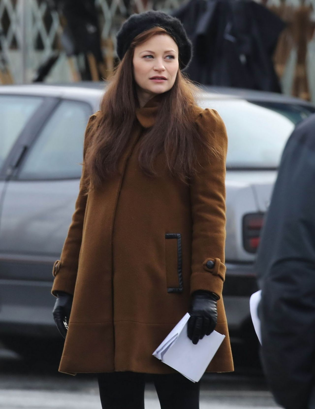 Emilie De Ravin - Set of 'Once Upon A Time' in Vancouver ...