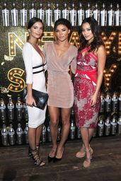 Emily Ratajkowski, Rita Ora, Jamie Chung, Jessica Szohr- SVEDKA Vodka's Broken Resolution Bash in Los Angeles, January 2016
