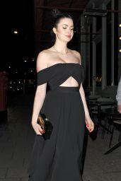 Emma Miller Nigh Out - at Sexy Fish Restaurant in London 1/11/2016