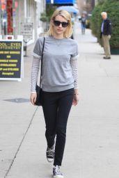 Emma Robert Casual Style - Running Errands in Beverly Hills 1/27/2016