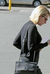 Emma Roberts Street Style - Out in West Hollywood, 1/28/2016