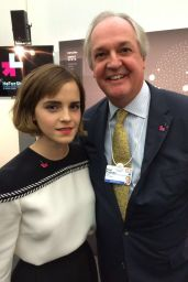Emma Watson – UN Women's inaugural HeForShe Parity, January 2016
