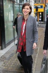 Emma Willis - Promoting The New Series at BBC Radio Two Studios in London 1/6/2016