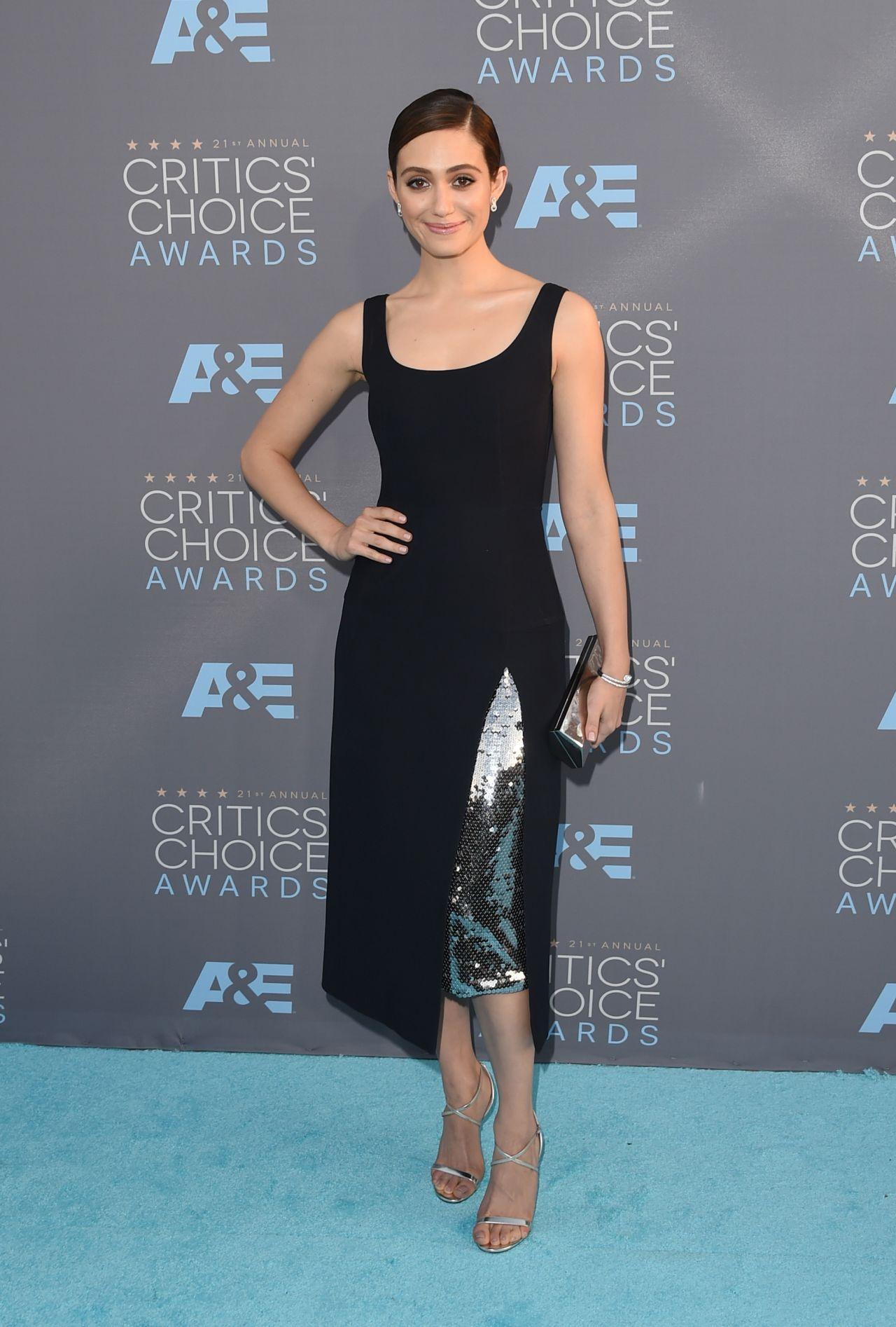 Emmy Rossum – 2016 Critics' Choice Awards in Santa Monica Emmyschoice