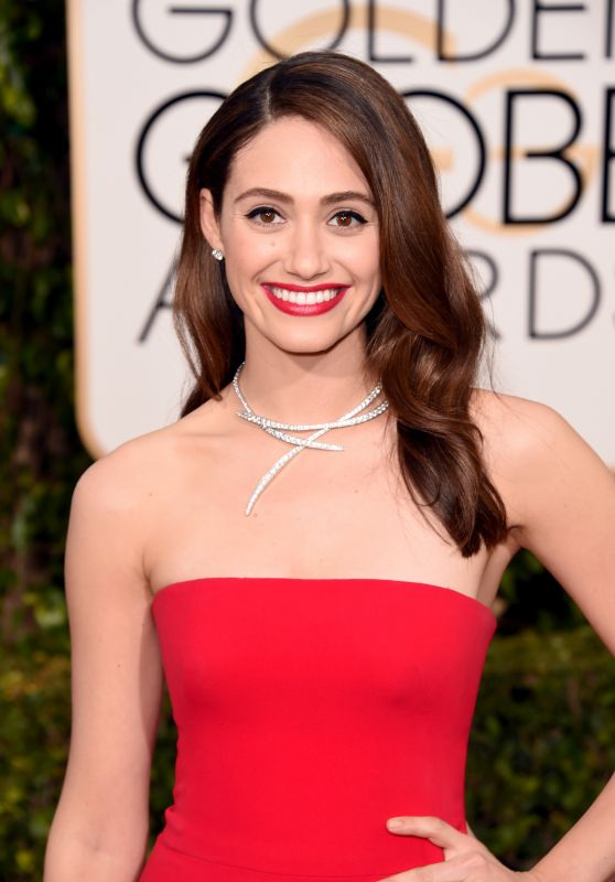 Emmy Rossum – 2016 Golden Globe Awards in Beverly Hills