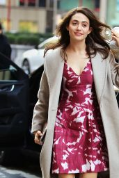 Emmy Rossum Style - Out in New York City, NY 1/7/2016