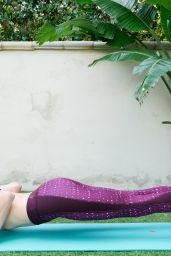 Eva Amurri Martino - Fitness Exercises on Her Blog 1/25/2016