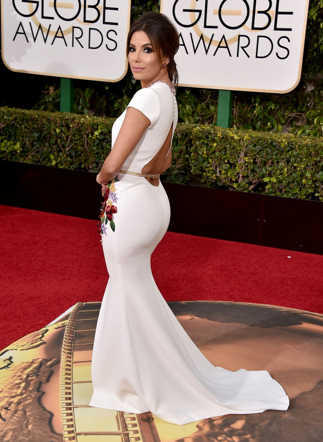 Eva Longoria 2016 Golden Globe Awards In Beverly Hills