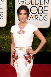 Eva Longoria – 2016 Golden Globe Awards in Beverly Hills