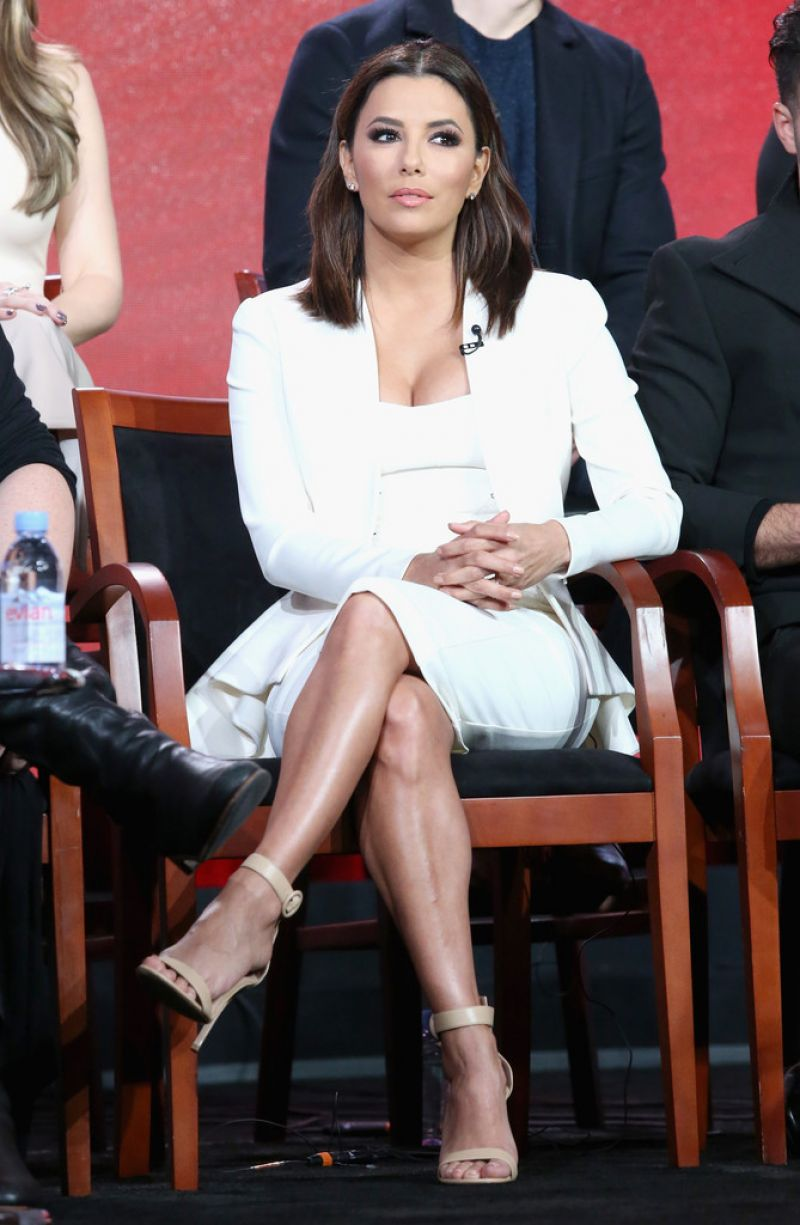 Eva Longoria – 2016 Winter TCA Tour in Pasadena, Day 9 Eva Longoria