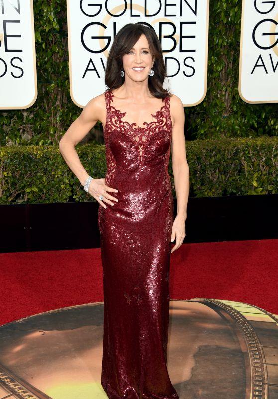 Felicity Huffman – 2016 Golden Globe Awards in Beverly Hills