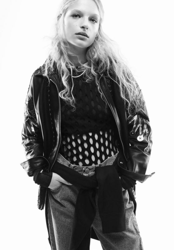Frederikke Sofie - Photoshoot for Vogue Paris February 2016
