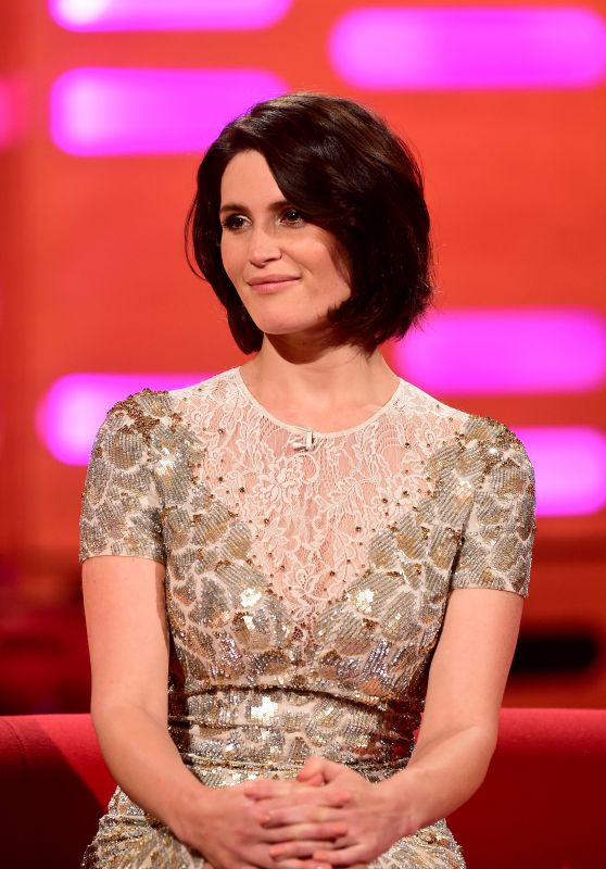 Gemma Arterton - The Graham Norton Show in London 1/14/2016