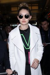 Gigi Hadid - Arrives at LAX Airport 1/28/2016