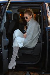 Gigi Hadid - Out in New York City 1/4/2016