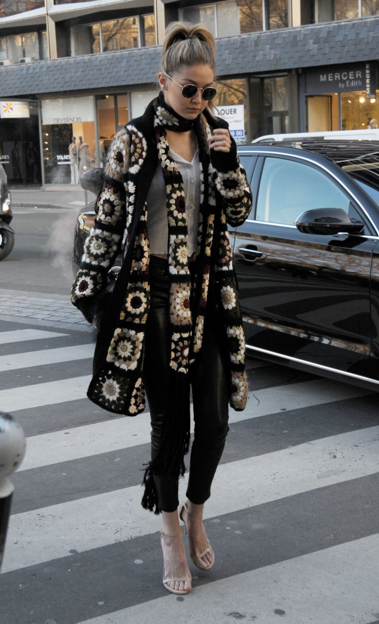 Gigi Hadid Street Fashion