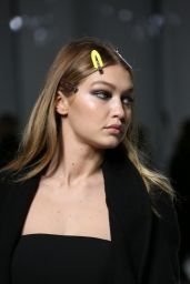 Gigi Hadid - Versace Catwalk Before The Haute Couture Spring Summer 2016, Paris Fashion Week 1/25/2016