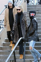Gigi Hadid Winter Style - Out in Aspen 12/27/2015