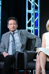 Gillian Anderson and David Duchovny -