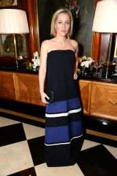 Gillian Anderson - Avedon by Dior Party in London 1/19/2016