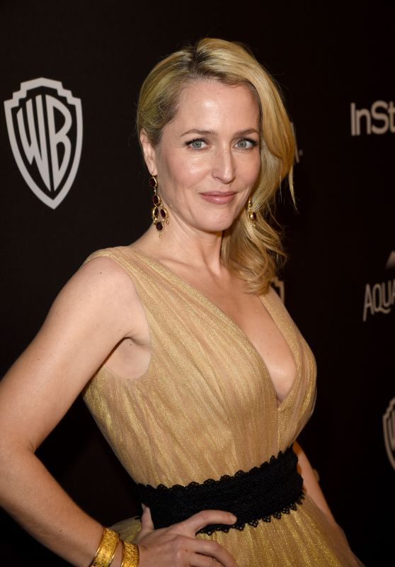 Gillian Anderson - InStyle And Warner Bros. Golden Globe Awards 2016 Post-Party in Beverly Hills