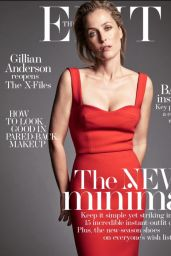 Gillian Anderson - The Edit Magazine January 2016 Cover and Photos