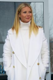 Gwyneth Paltrow - Audi Driving Experience in Kitzbuehel, Austria January 2016