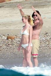 Gwyneth Paltrow in White Bikini - Mexico, January 2016