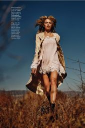 Hailey Clauson - ELLE Magazine Spain February 2016 Issue